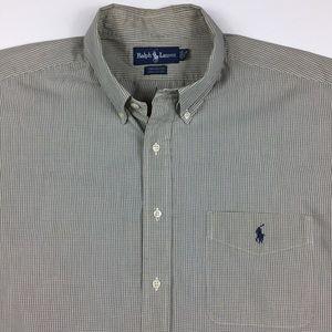 Ralph Lauren Yarmouth Plaid Button Down Shirt